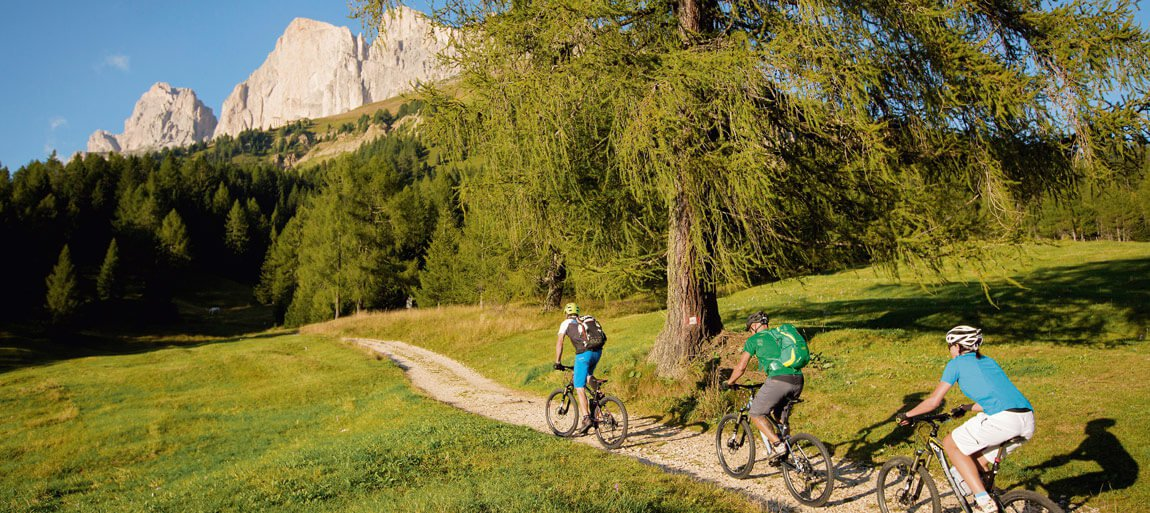 Mountainbike Urlaub in den Dolomiten