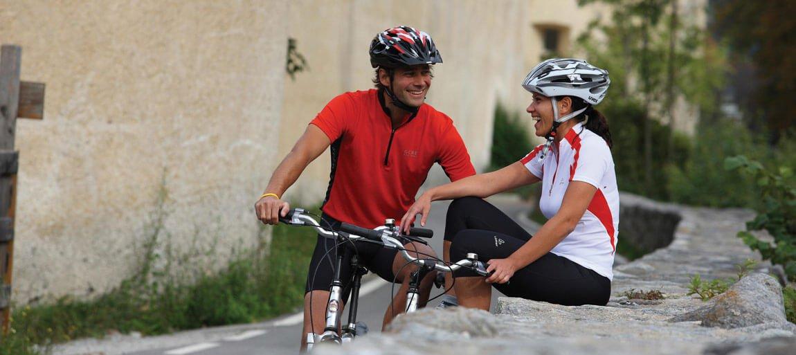 Vacanza in bicicletta in Val di Funes al maso Verlotthof