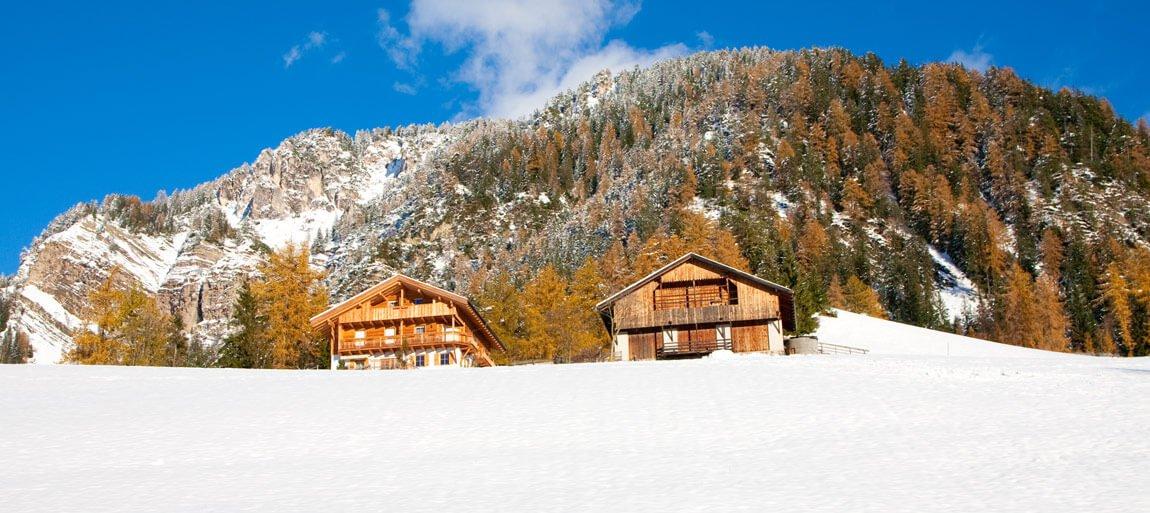 Zimowy urlop w Dolomitach Tyrol Południowy